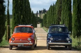 Vintage Fiats in Chianti (Copyright: Christopher D. Allsop)