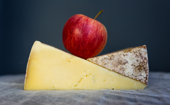 Cheese and apple photography by Chris Allsop Freelance Writer & Editor